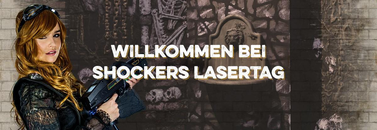 Shockers Laser Tag München